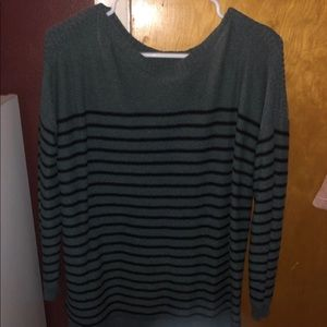Old Navy olive green sweater